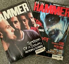 METAL HAMMER HEAVY METAL MAGAZINE BUNDLE SYSTEM OF A DOWN NINE INCH NAILS 2002