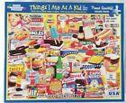 White Mountain THINGS I ATE AS A KID 1110 Jigsaw Puzzle 1000 p 24x30 Girard 2014