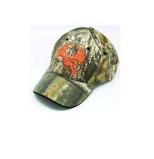 Longleaf Solid back Camo Cap, Orange logo