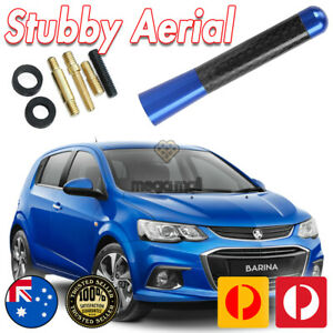 BLUE ANTENNA / AERIAL STUBBY BEE STING for Holden Barina SRi Spark Cruze