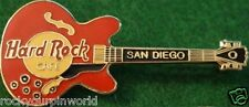 Hard Rock Cafe SAN DIEGO 1990s CHUCK BERRY Red Guitar PIN - HRC Logos 2LC #8241