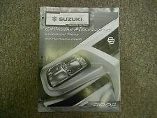 2002 Suzuki Genuine Accessories Confidential Pricing Application Guide Manual 02