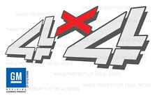 2002 Chevy Silverado 4x4 decals - F - bed truck stickers 1500 2500 chevrolet HD