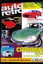 AUTO Rétro n°205; Dossier utilitaires français/ Ferrari 288 GTO/ Citroën ID/DS