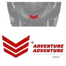 Rifrangente ADESIVO Rosso compatibile con NC 700 750 X 11 16 NC750X NC700X