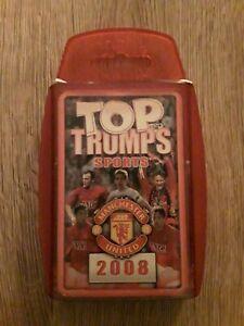 Quartett  - Manchester United  - Top Trumps (1)