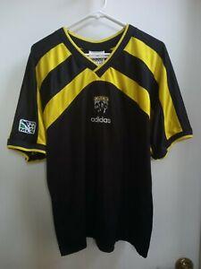 Columbus Crew Brian McBride 1996 Inaugural Season Adidas Jersey XL