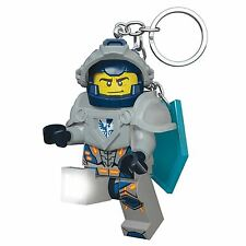 LEGO NEXO KNIGHTS CLAY KEYLIGHT KEYRING WITH SHIELD POWER CODE CHILDRENS NEW