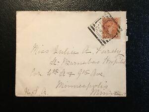 HALIFAX N.S. CANADA (H II) JA 21 97 Sq. Cir to Minneapolis Minn, SC#37