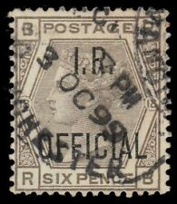 "Great Britain O6 (Sg O4) - Queen Victoria ""I.R. Official"" 1882 Print (pa60622)"