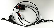 Shimano M445 M446 Mtb Disc Brake Set, Levers and Calipers, Fully Bled Hoses, New