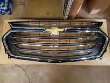 2018 Chevy Chevrolet Traverse Front Chrome Grille GM  84344487 23376134