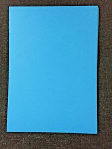A4 Coloured Craft Card Approx 240-255gsm - Deep Blue x 10 sheets Free P&P