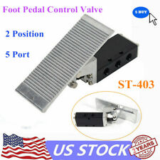 Foot Pedal Operated Control Valve 2 Position G38 Air Pneumatic Switch
