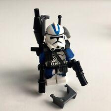 LEGO Star Wars 501st Clone Trooper aus Lego Teilen + Custom Helm & Equipment