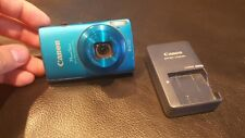 Used CANON ELPH 310 HS Blue Camera Full HD Made in Japan
