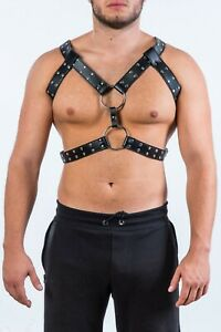 Triple straps harness, Two rings harness, harness with eyelets, cobweb harness