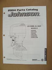 2004 Omc Johnson Sr 25 30 25 Hp Commercial Outboard Motor Parts Catalog 5005674