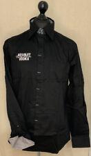 More details for absolut vodka black long sleeve men's shirt size xl