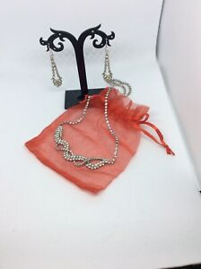 Vintage Necklace and Earring Comes In An Organza Gift Bag