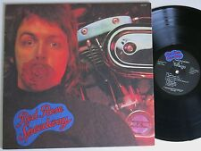 PAUL MCCARTNEY & WINGS RED ROSE SPEEDWAY RARE US APPLE BRAILLE CVR LP TOP +BKLT!
