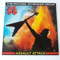Michael Schenker Group MSG UFO - Assault Attack - Vinyl LP 1st Press EX+/EX