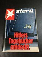 STERN MAGAZINE German 1983 HITLER'S DIARIES issue Rare Tagebucher entdeckt