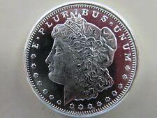 1/4 ounce silver .999 Morgan Round