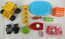Lego Duplo Auto Figur Boot Kuh Steine
