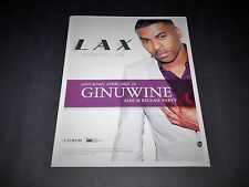 Ginuwine Elgin Album Release Party 15x12 R&B Music Official Event Promo Poster