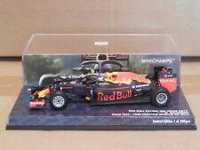 1/43 Minichamps Red Bull Racing RB12 Daniel Ricciardo 2016 Belgian GP Halo Test