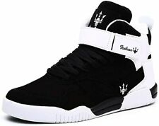 KUXIE Shoes Men's High Top Fashion Sneakers Outdoor Casual Sports Shoes Training