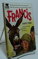 Francis by David Stern - Dell 507 - Francis the Talking Mule