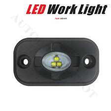 15W LED WORK LIGHT FLOOD OFFROAD 12V 24V TUNDRA SUV ATV BOAT TRAILER LAMP_US