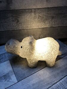 🦛Childs Hippo Hippopotamus Night Light Table Bedside Lamp Novelty Smash Proof