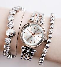 Original Michael Kors Reloj Mujer MK3298 Darci Mini Color: Plata / Rosa Dorado