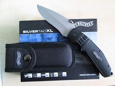Walther STK SilverTacKnife XL Taschenmesser Einhandmesser Messer & Holster 50753