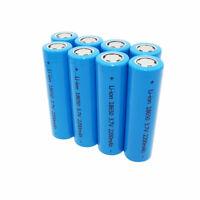 2/4/6/8 18650 Batteries 2200mAh Li-ion High Drain Rechargeable Battery