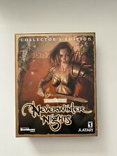 NEVERWINTER NIGHTS COLLECTOR'S EDITION*PC*SSI AD&D*EXTREMELY RARE VERY LARGE BOX