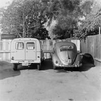 Citroen 2-CV Wagon 1956 model OLD CAR ROAD TEST PHOTO 1
