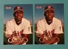 1998 FLEER TRADITION DAVID ORTIZ  #285  RC