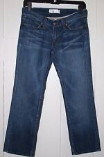HABITUAL CROPPED BLUE JEANS - Size 26  (see measurements below)