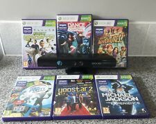 XBOX 360 Kinect Sensor Bar,6 Games,Sports,Dance,Party,Jackson,Yoostar,Adventures