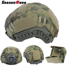 Exquisite Outdoor Airsoft Tactical Helmet Cover for Ops-Core Fast Helmet MR