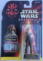 Star Wars JAR JAR BINKS Action Figure Phantom Menace TPM 1998 Hasbro Kenner NEW