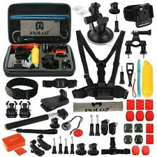 PULUZ 53 in 1 Accessoires Bundles Combo Kit for GoPro Hero 7 6 5 4 3  3+ 2 1