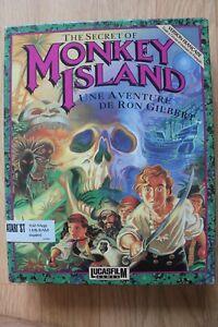 Jeu Atari 520 ST BIG BOX vintage retrogaming - THE SECRET OF MONKEY ISLAND