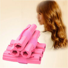 6pcs Fashion Magic Foam Rollers Sponge Hair Styling Soft Curler Twist DIY Tool H