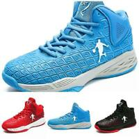Casuals Shoes Men High Top Athletic Comfort Sport Basketball Sneaker Breathable
