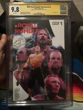 WWE Royal Rumble 2018 Special 1 CHC SS Signed By Shawn Michaels!